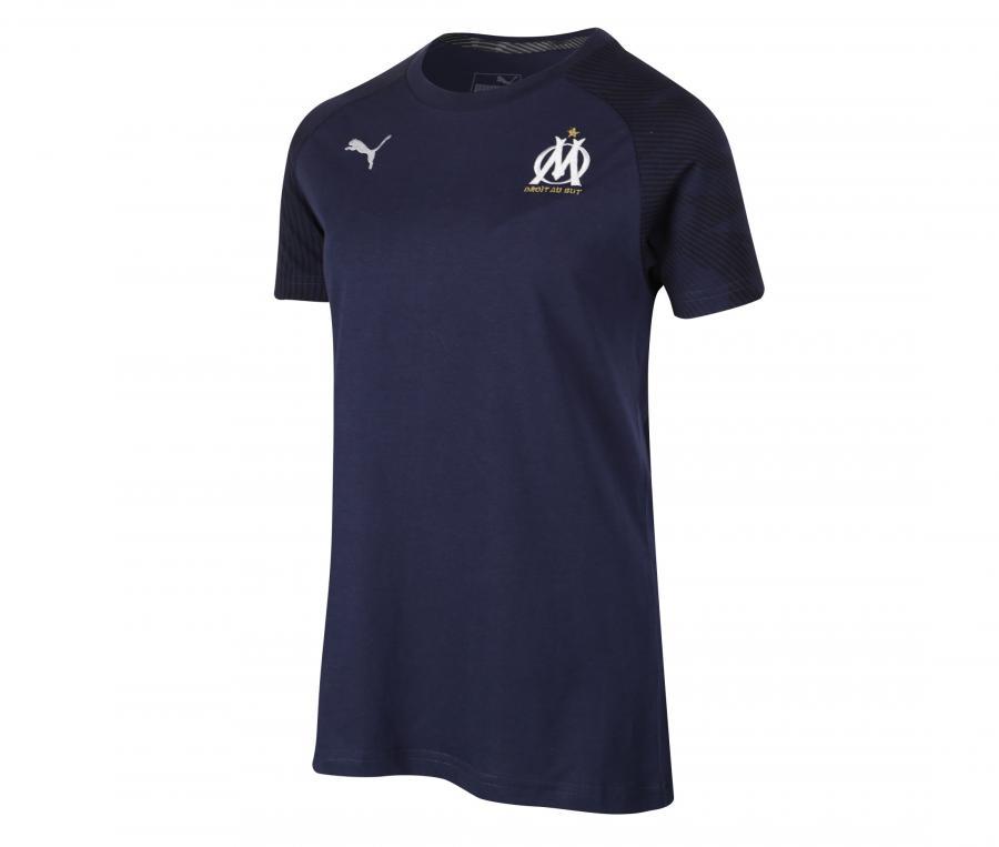 Camiseta OM Casuals Azul Mujer