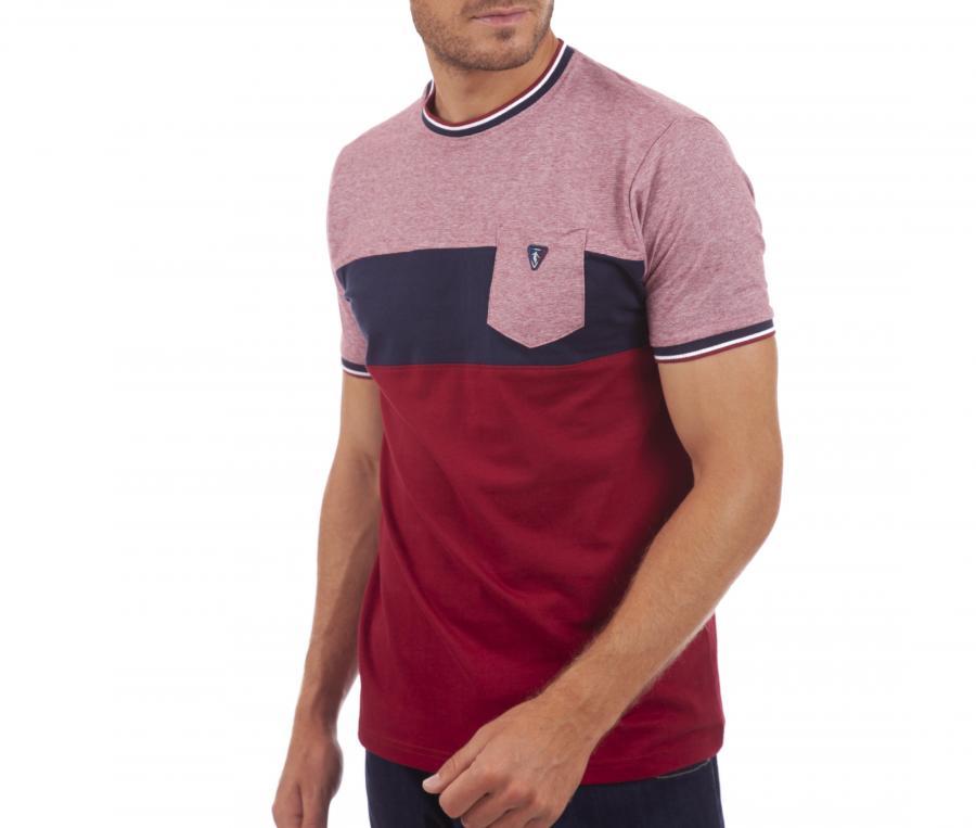 T-shirt Camberabero Lifestyle Rouge/Bleu