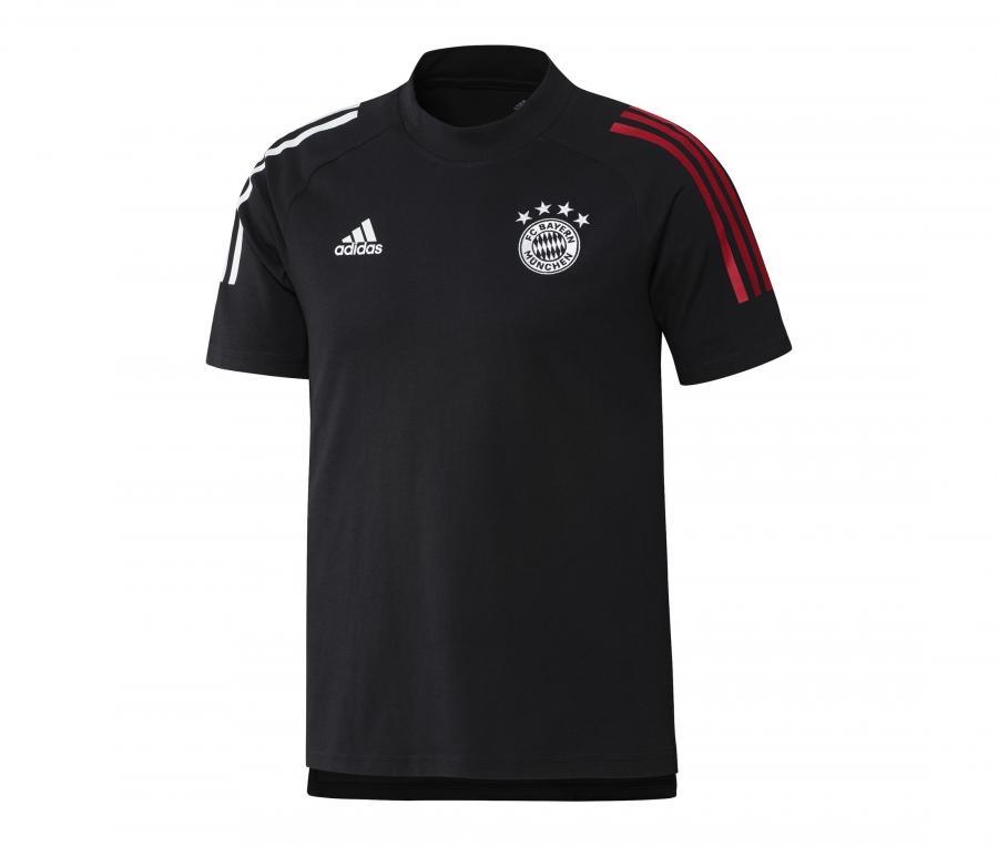 T-shirt Bayern Munich Noir/Rouge