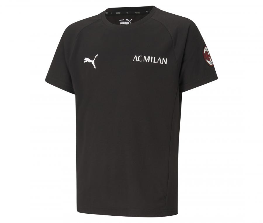 T-shirt AC Milan Evostripe Noir Junior