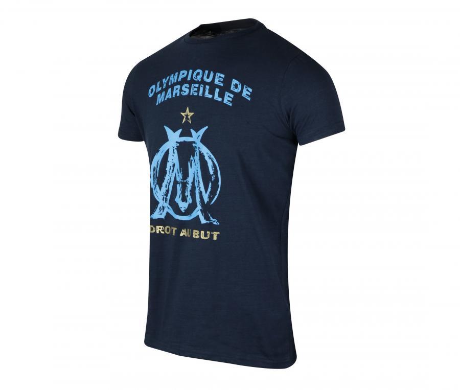 T-shirt OM Logo Bleu