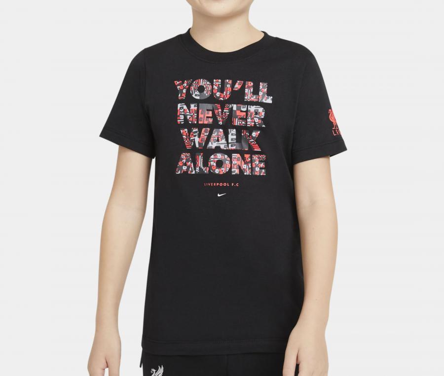 T-shirt Liverpool Tee Voice Noir Junior