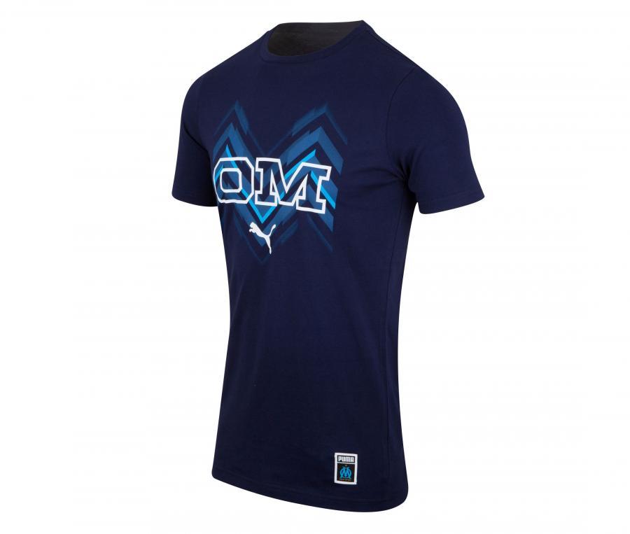 T-shirt OM Core Bleu Junior