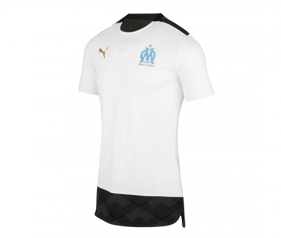 Camiseta OM Casual Blanco/Negro