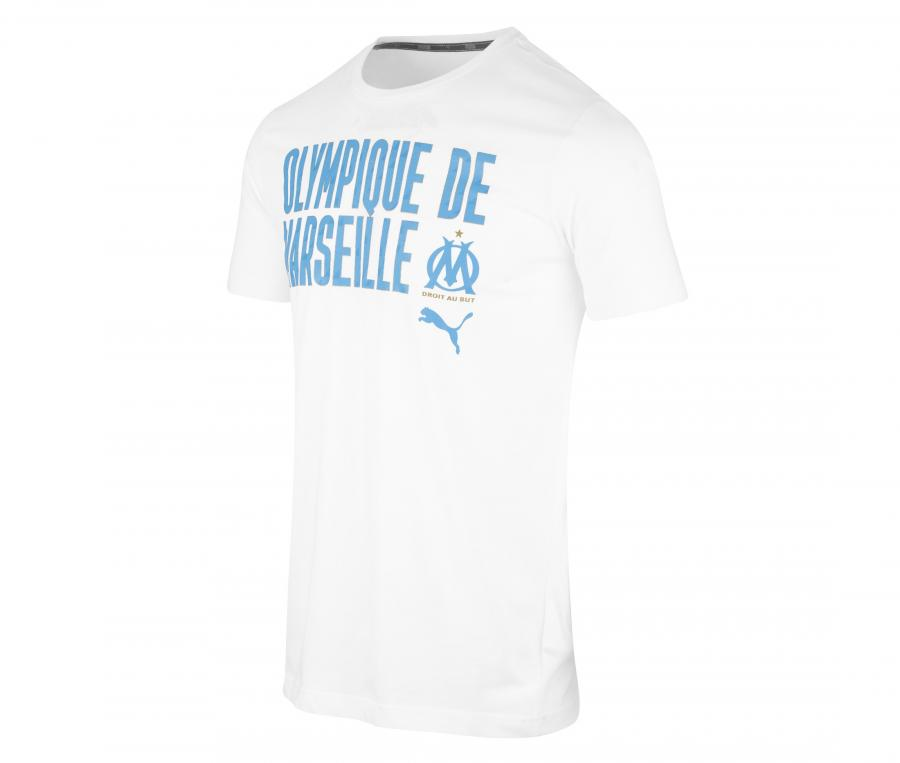 T-shirt OM Word Blanc
