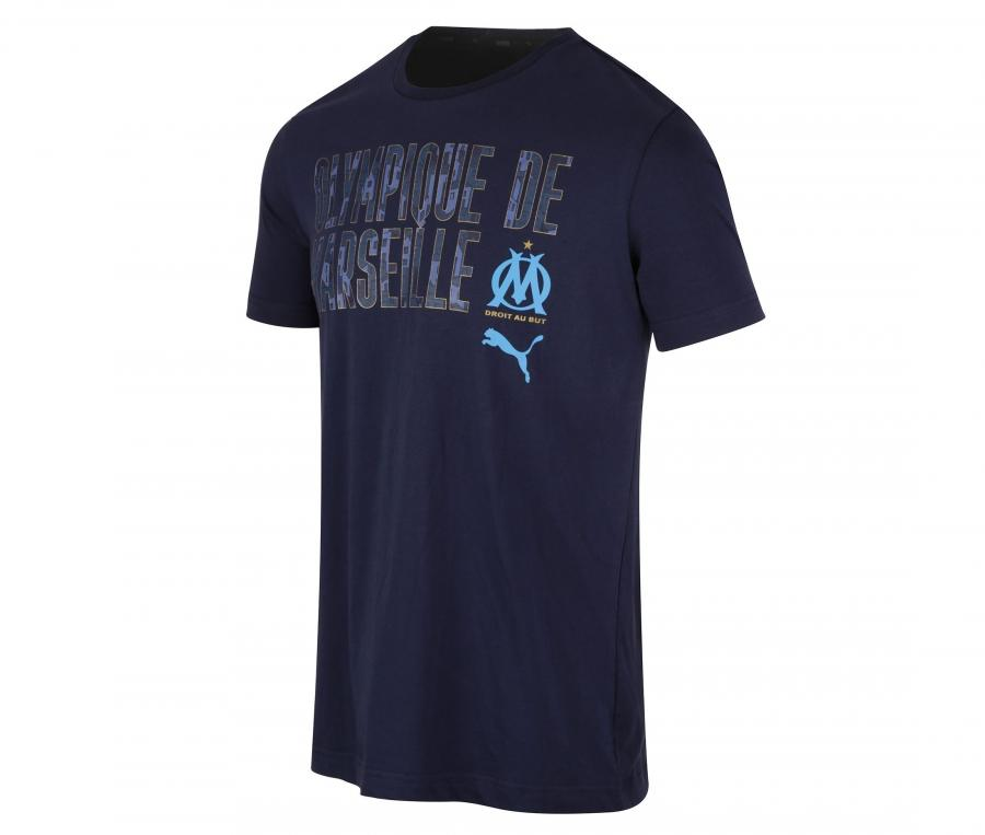 OM World Men's Tee-shirt Blue