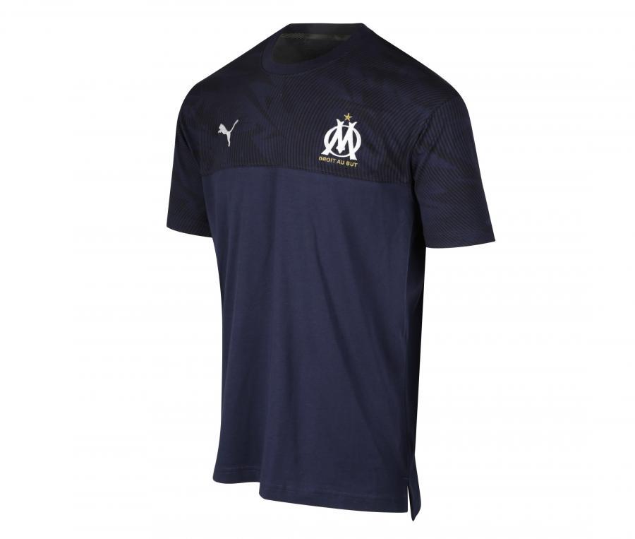 T-shirt OM Casuals Bleu