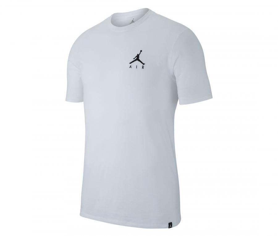 T-shirt Nike Jordan Air Embroidered Blanc