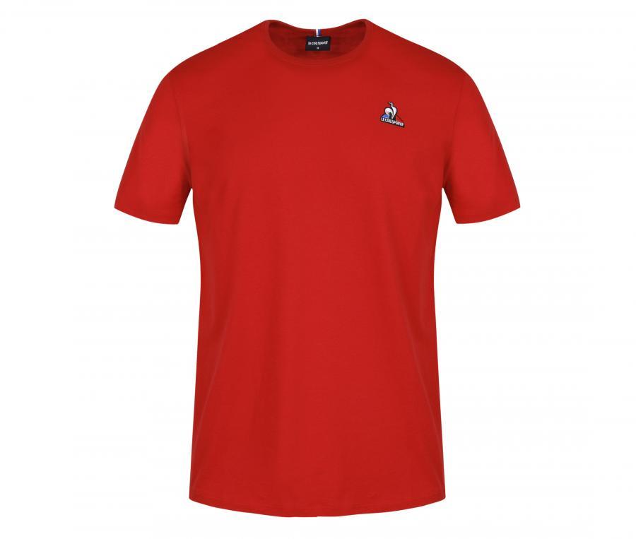 T-shirt Le Coq Sportif Essentiels Rouge