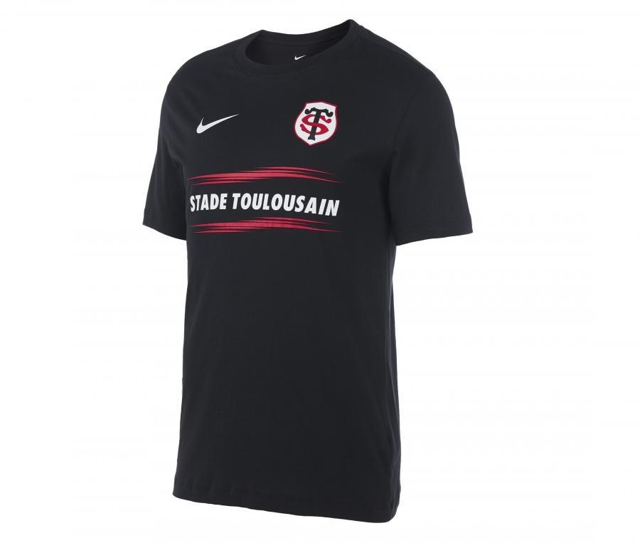 T-shirt Stade Toulousain Graphic Noir