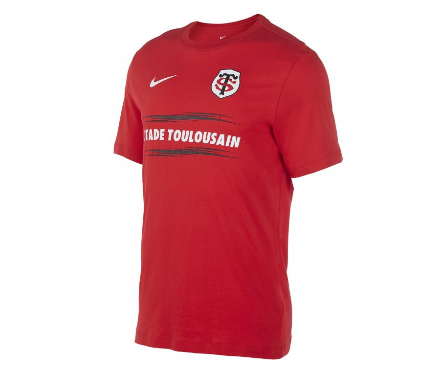 T-shirt Stade Toulousain Graphic Rouge