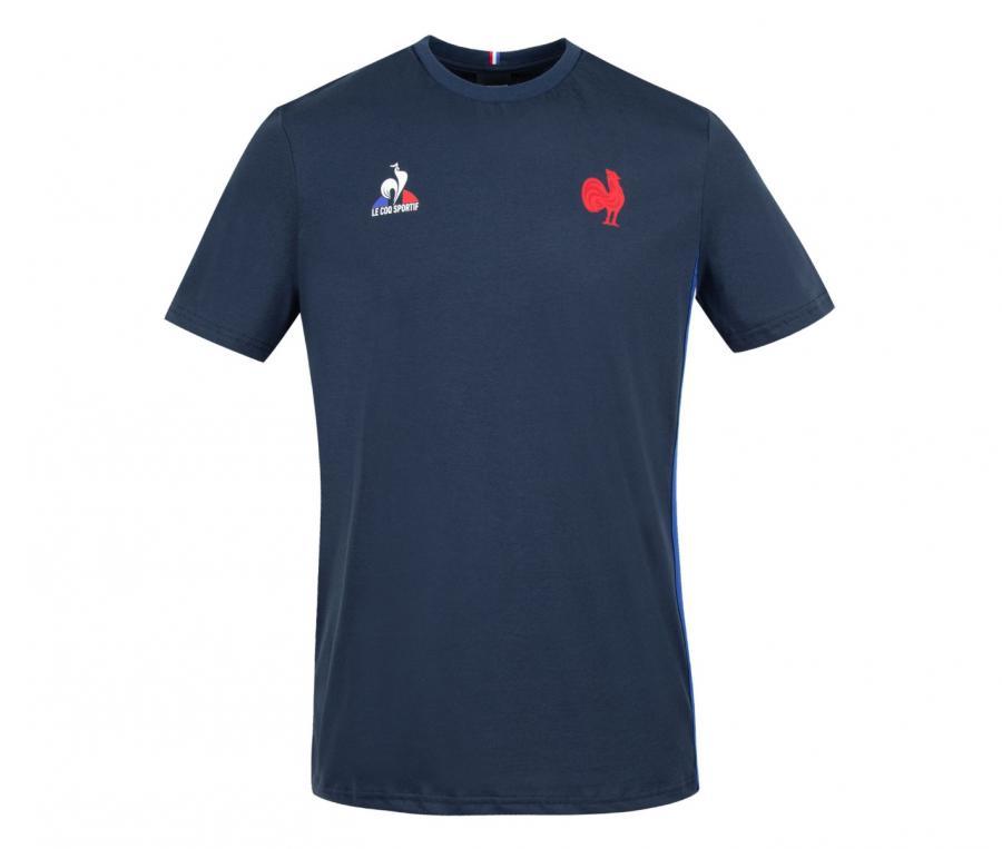 T-shirt FFR France Rugby Bleu