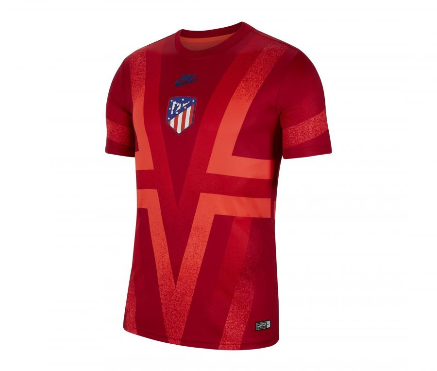 Maillot Pré-Match Atlético Madrid Rouge