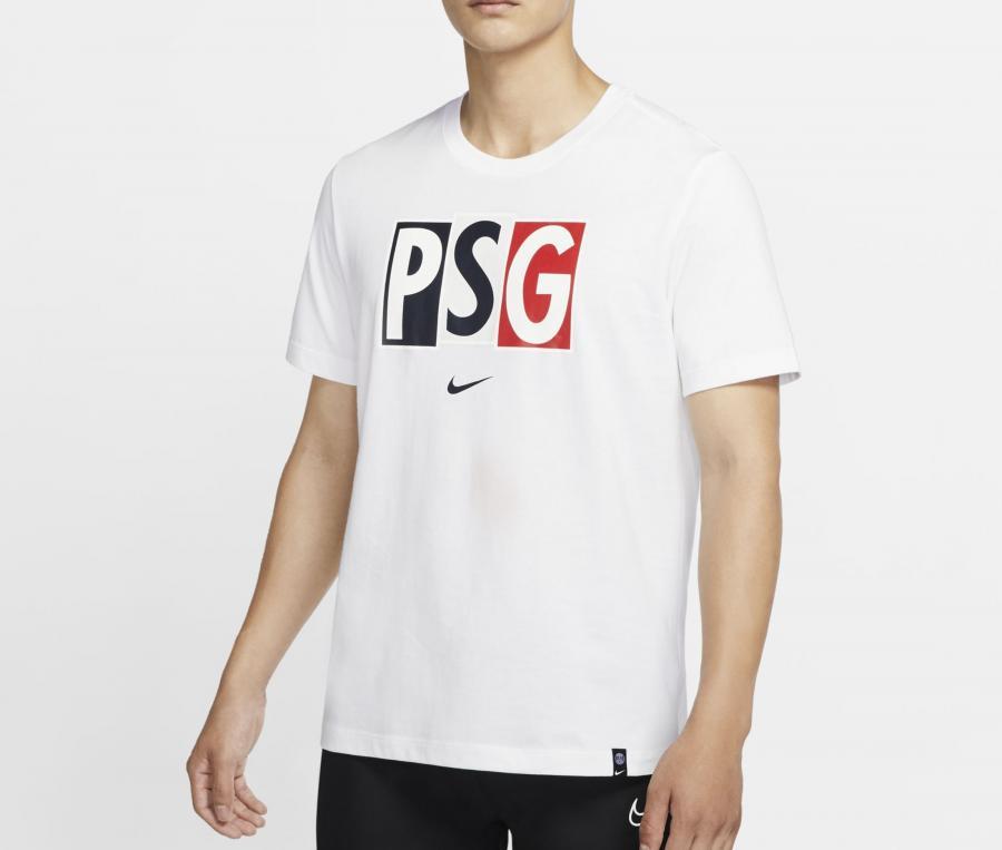 T-shirt PSG Voice Blanc