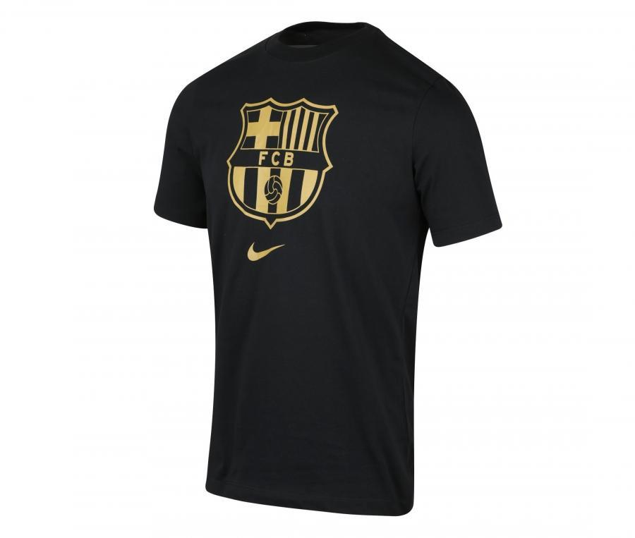 T-shirt Barça Crest Noir