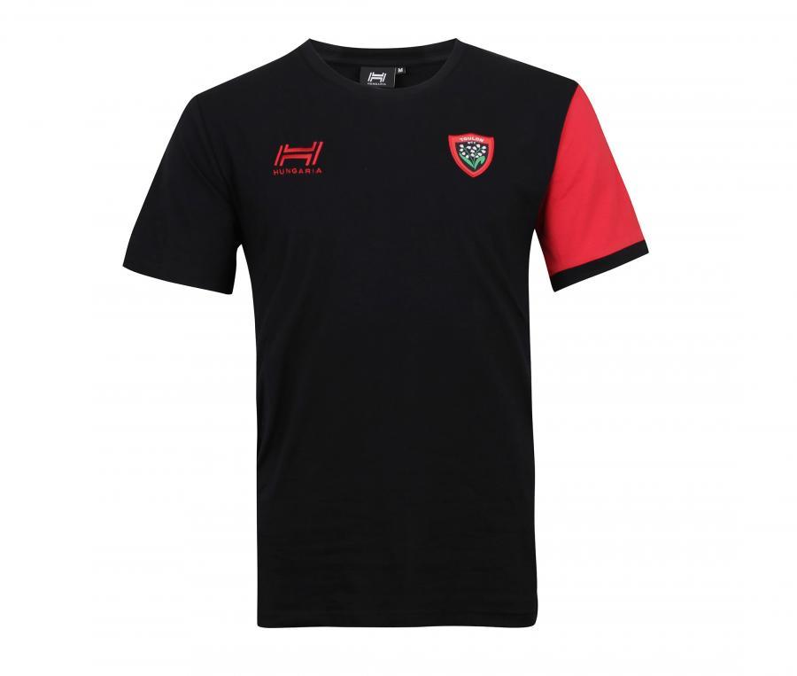 T-shirt RC Toulon Capitaine Noir