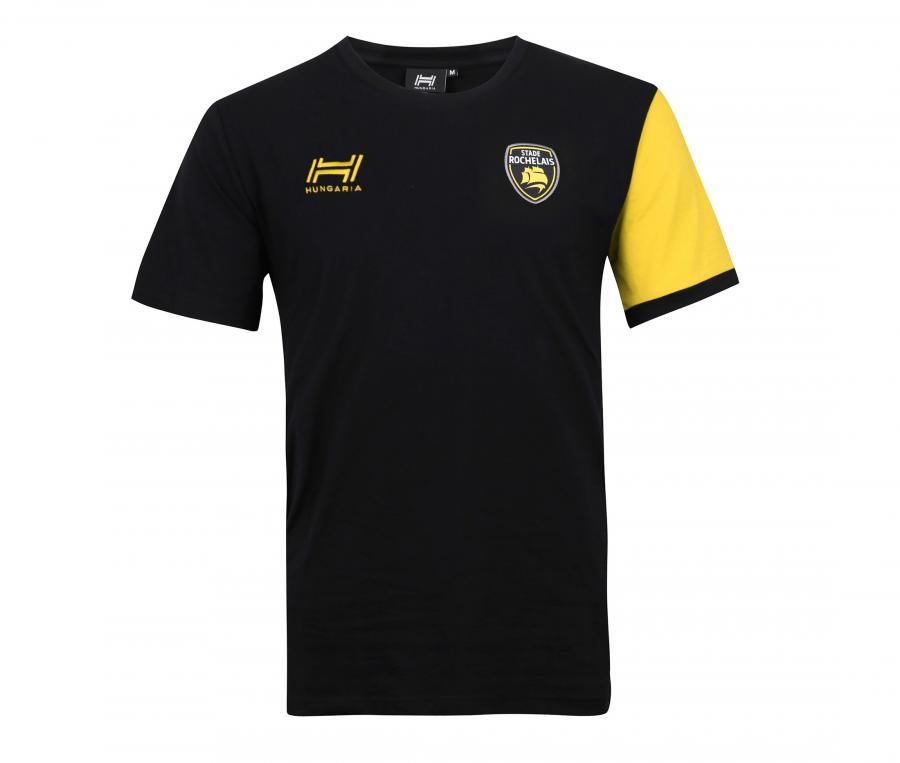 T-shirt Stade Rochelais Capitaine Noir