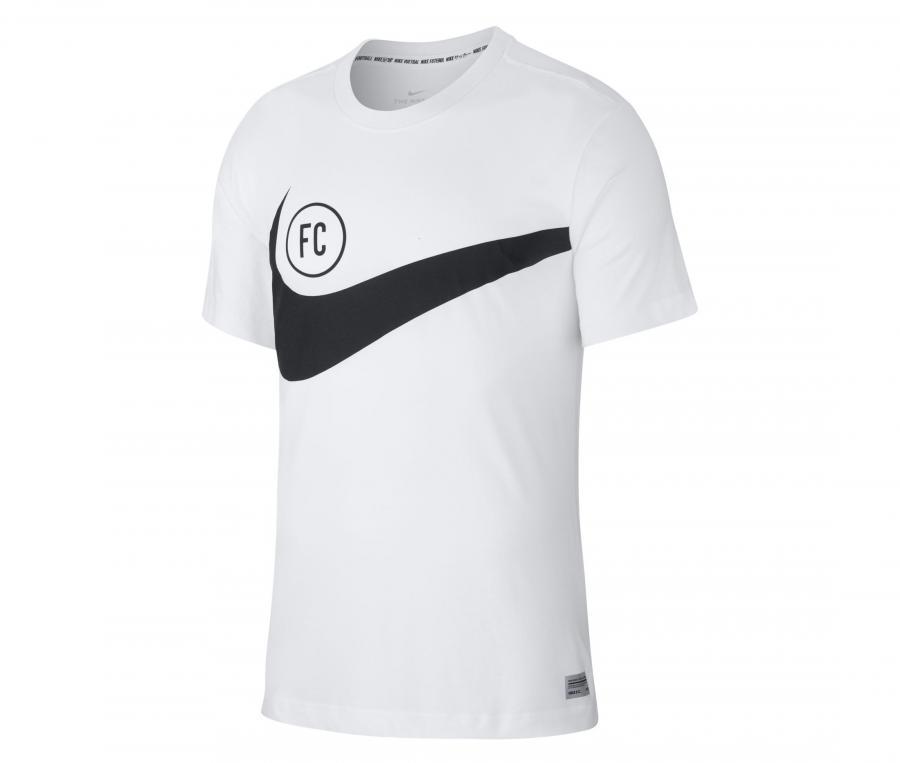 T-shirt Nike F.C. Blanc