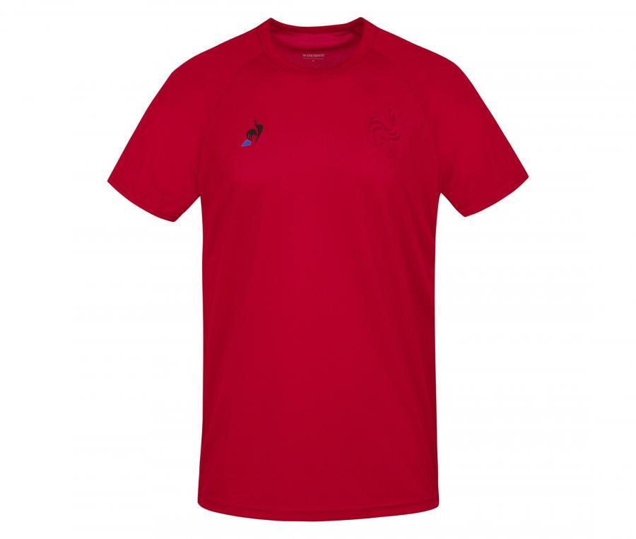 T-shirt Entraînement France FFR Rouge