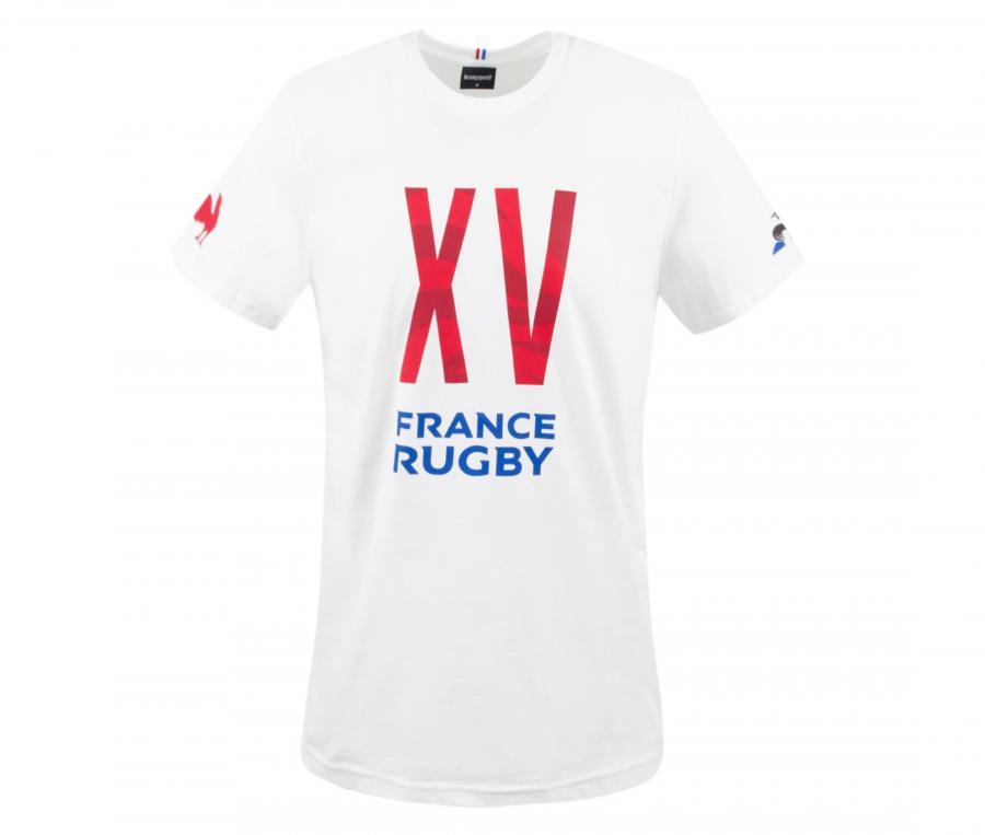 T-shirt France Rugby Blanc