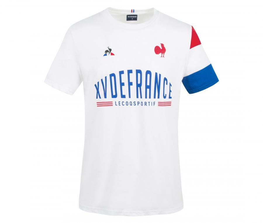 T-shirt France Rugby XV de France Blanc