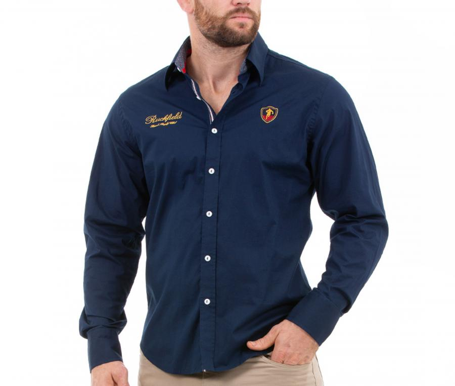 Chemise Ruckfield French Rugby Club Bleu