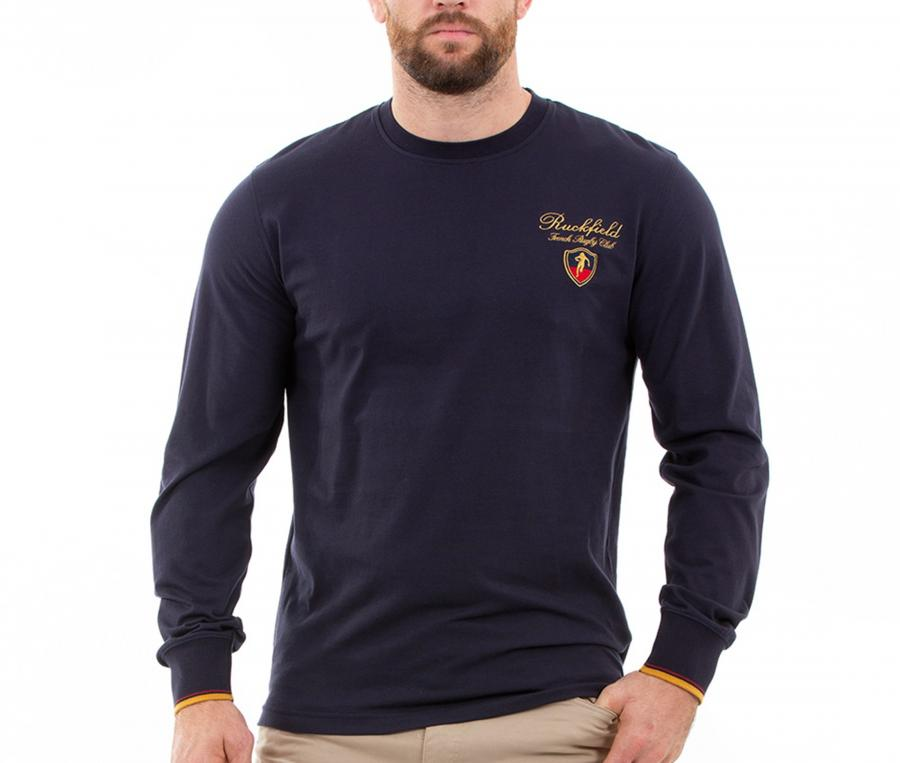 Sweat-shirt Ruckfield French Rugby Club Bleu