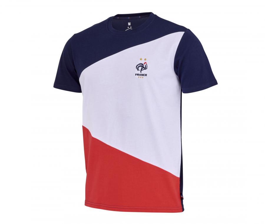 T-shirt France Color Bleu/Blanc/Rouge