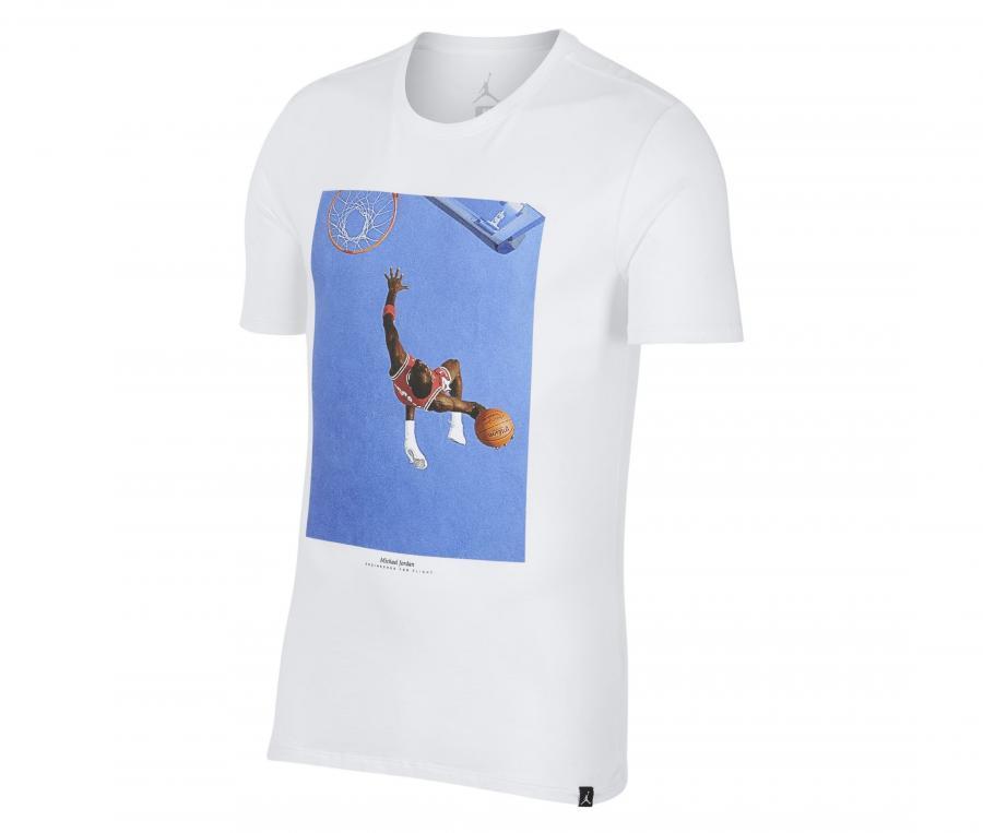 T-shirt Nike Jordan Sportswear SI Photo Blanc