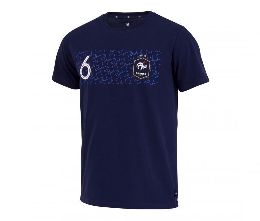 T-shirt Pogba 6 Player Bleu