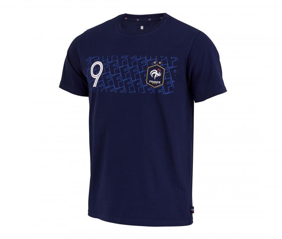 T-shirt Giroud 9 Player Bleu