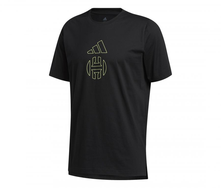 T-shirt adidas James Harden Noir