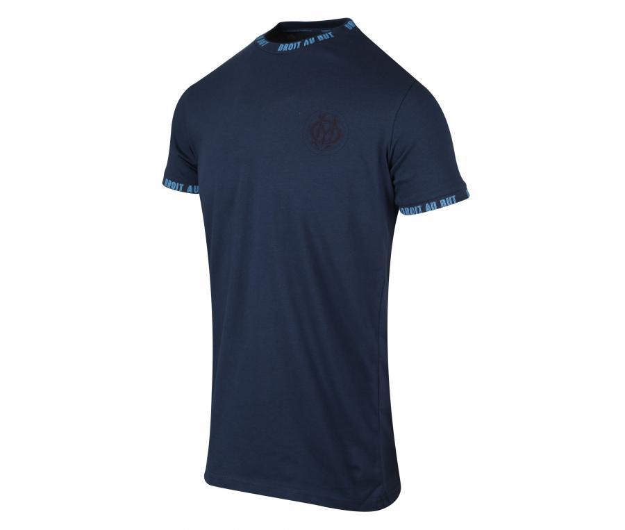 OM Droit Au But Tee-shirt Blue