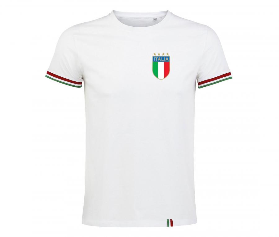 T-shirt Italie Blanc