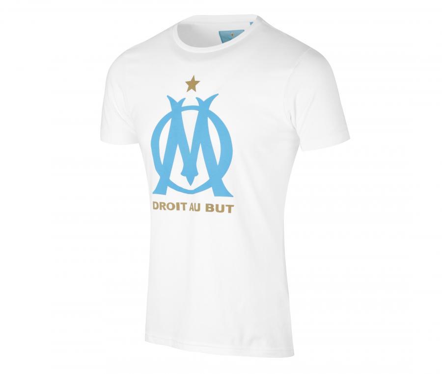 T-shirt OM Logo Fan Blanc