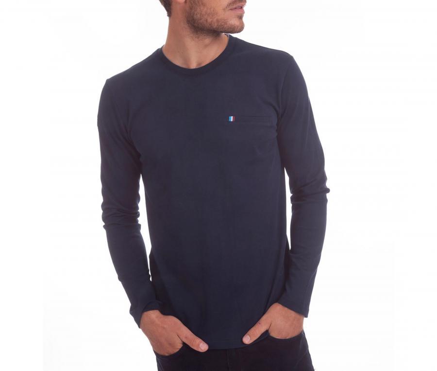 T-shirt Manches Longues Camberabero Bleu