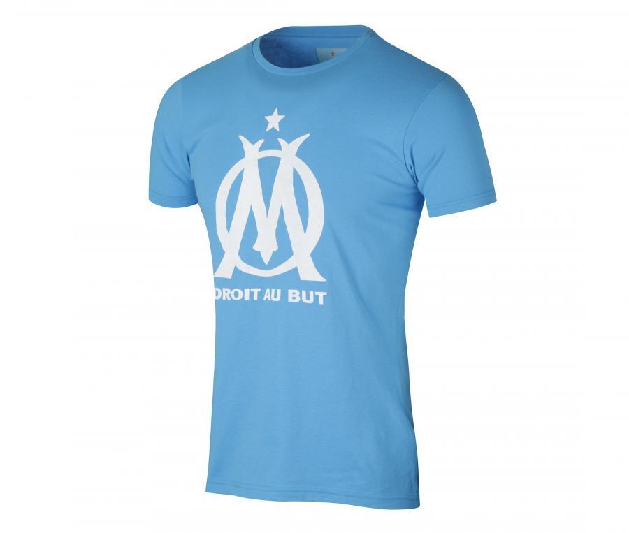 T-shirt OM Logo Fan Bleu Junior