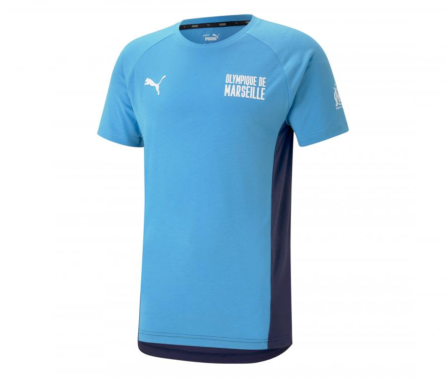 OM Evostripe Tee-shirt Blue