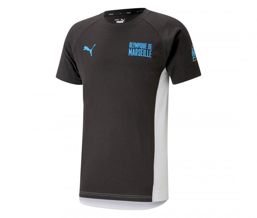 T-shirt OM Evostripe Noir/Blanc