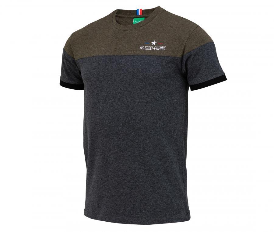 T-shirt AS Saint-Etienne Lifestyle Gris/Marron