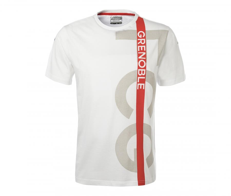 T-shirt FC Grenoble Rugby Ofanto Blanc