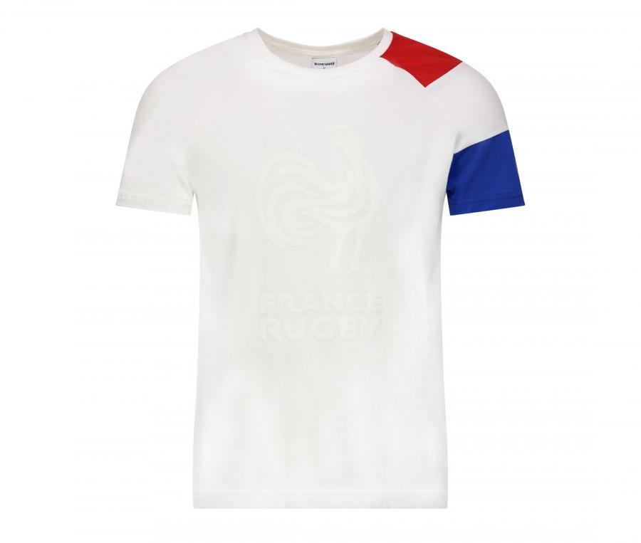 T-shirt France FFR Blanc