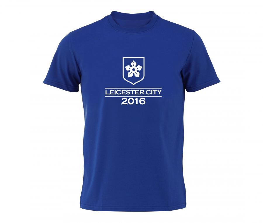 T-Shirt Leicester Bleu