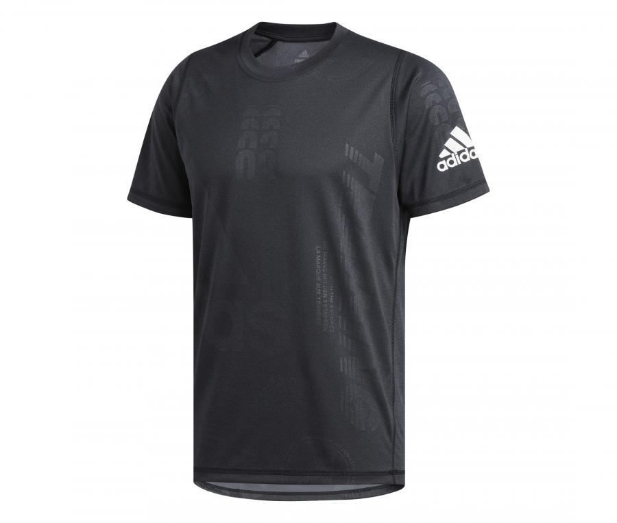T-shirt adidas Freelift Daily Press Noir