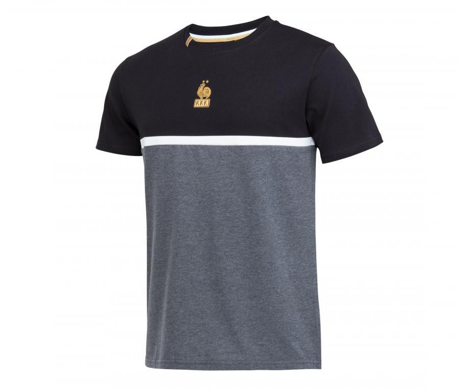 T-shirt France Lifestyle Gris/Noir