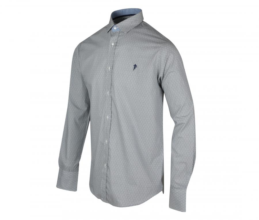 Chemise Manches Longues Ruckfield Gris