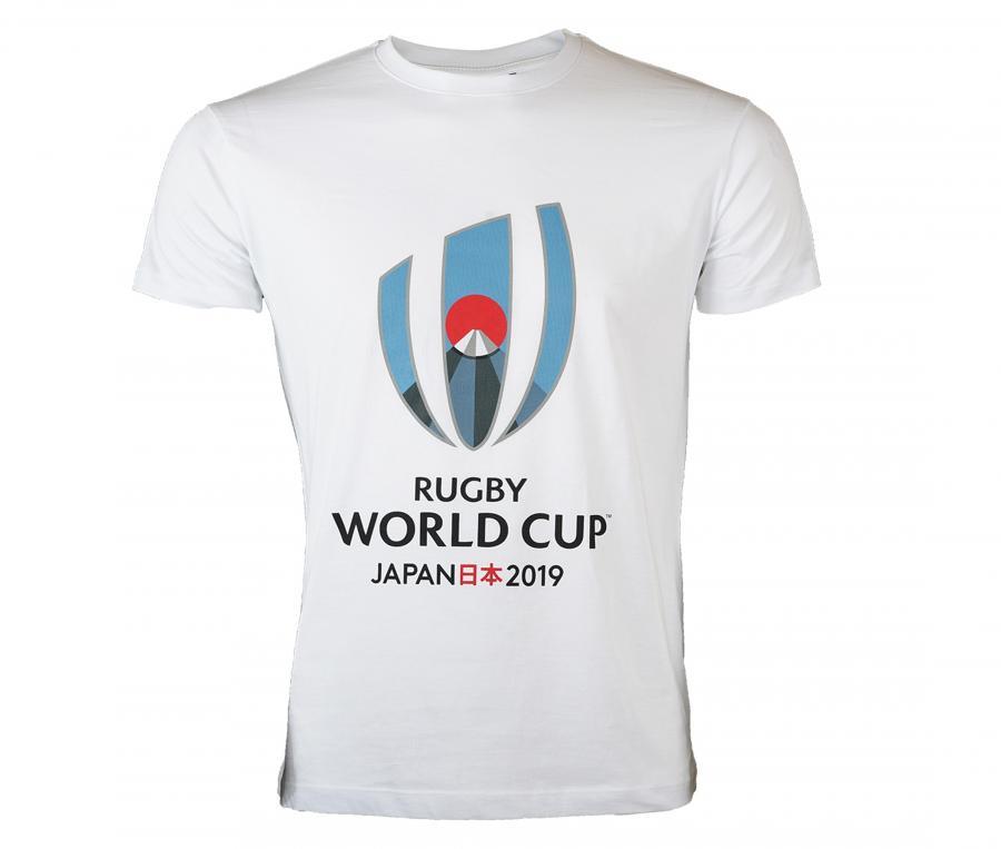 T-shirt Coupe du Monde de Rugby Blanc Junior