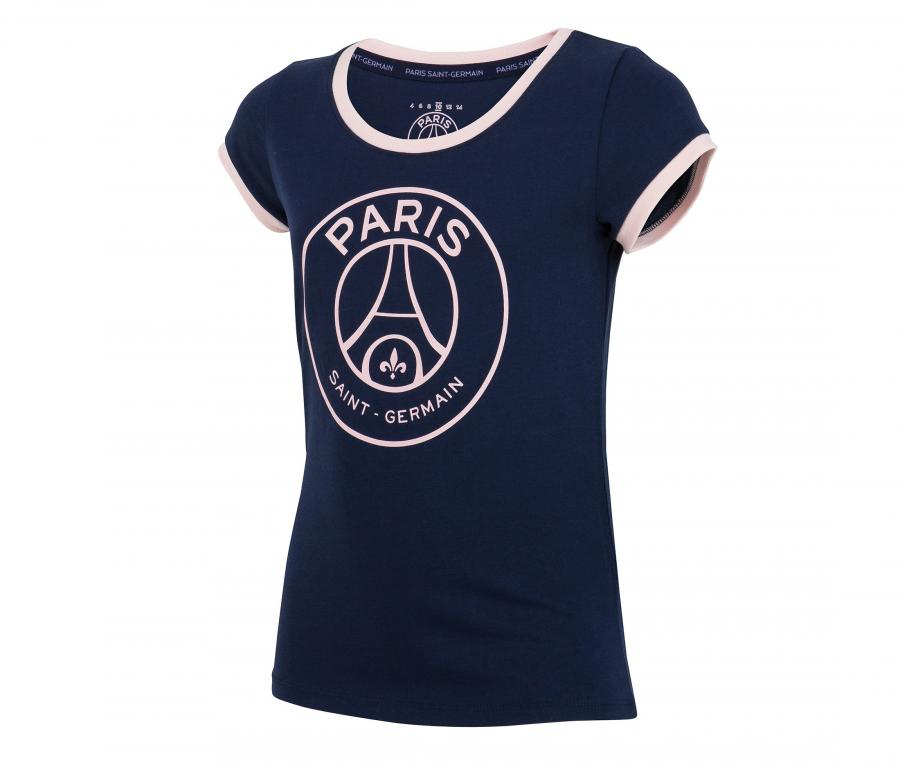 T-shirt PSG Big Logo Bleu Junior