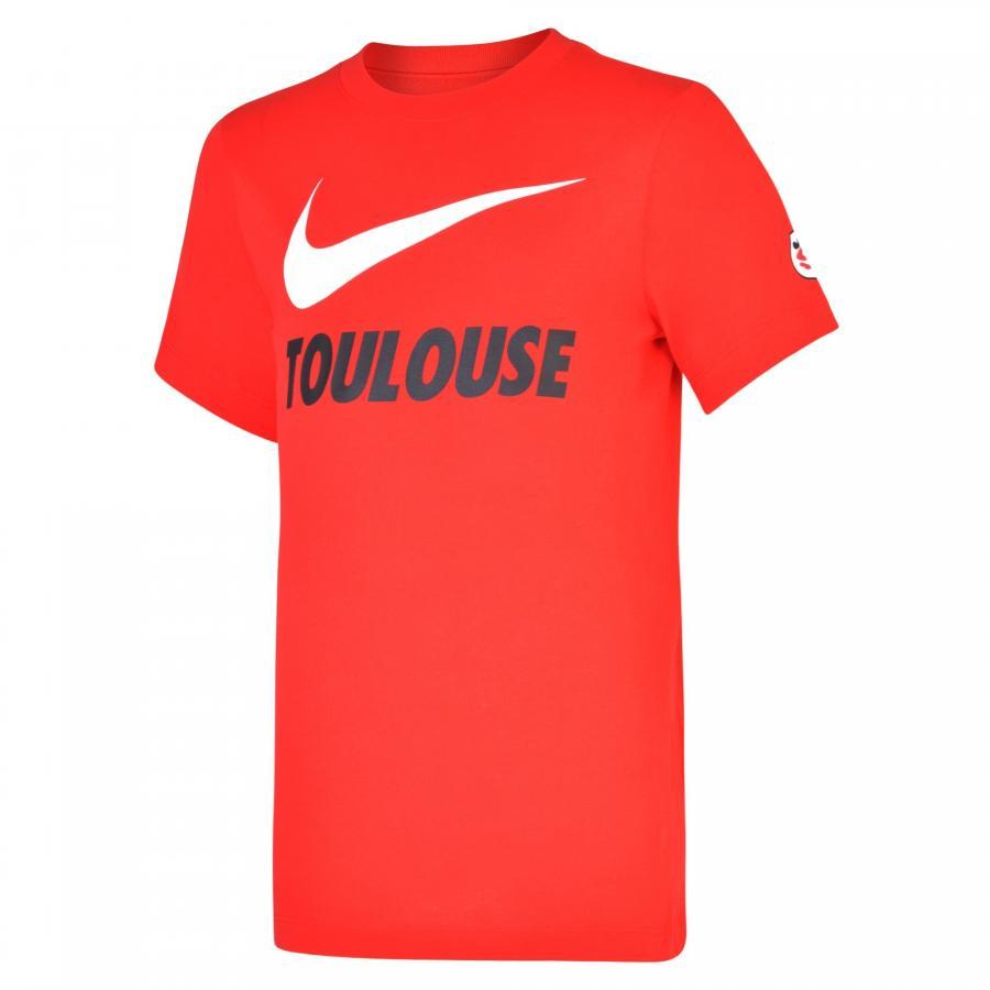 T-shirt Stade Toulousain Rouge Junior