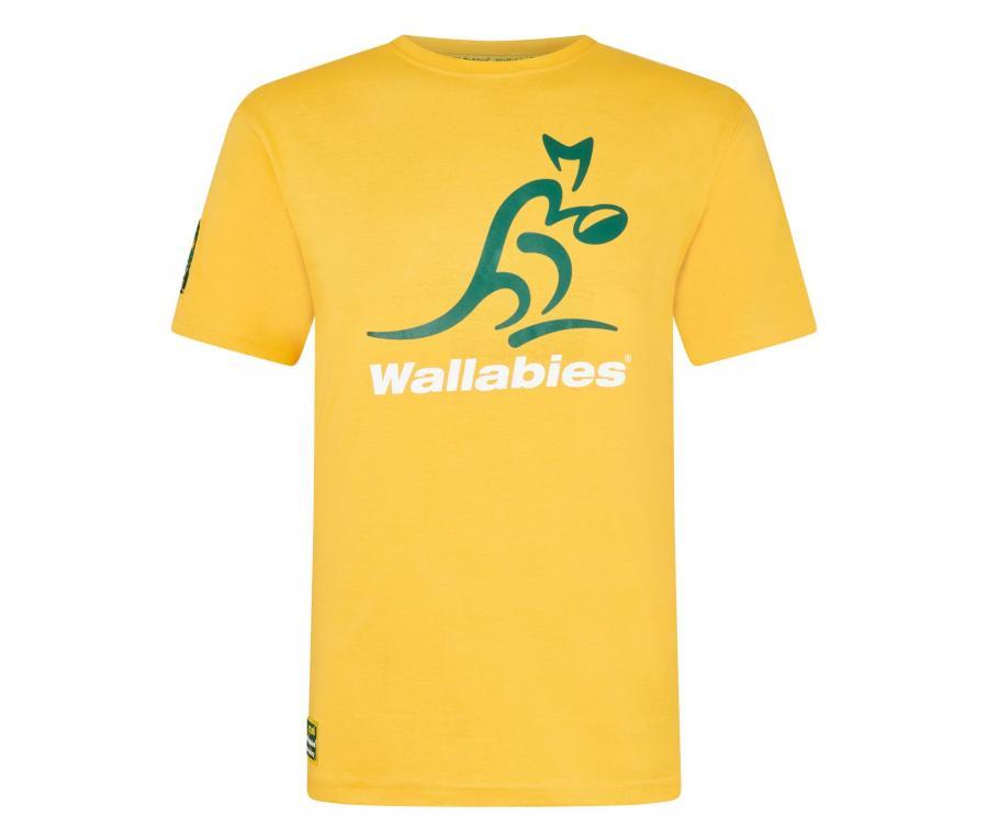 T-shirt Wallabies Jaune Junior